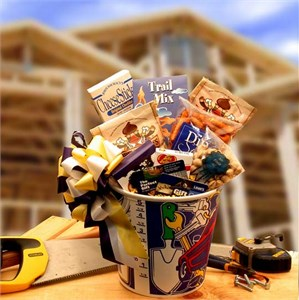 Men At Work Gift Basket with 25.00 Lowes Gift Card