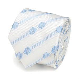 Millennium Falcon Mirror Stripe White Men's Tie