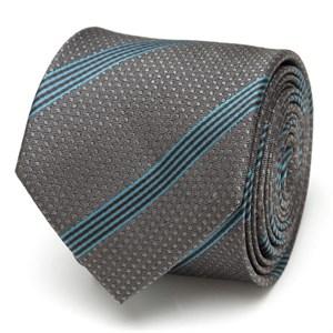 Millennium Falcon Stripe Gray Men's Tie