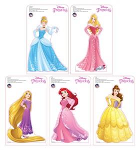Mini Disney Princesses Standees 5 pack