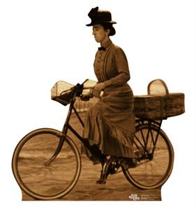 Miss Gulch on Bike The Wizard of Oz Cardboard Cutout