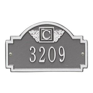Personalized Monogram Small Address Plaque - 1 Line