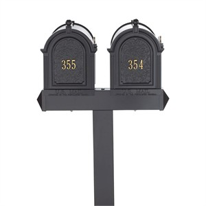 Personalized Multi Mailbox Double Package