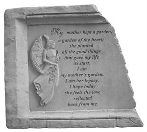 My mother kept...Framed Memorial Stone