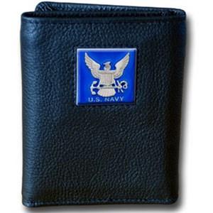 Navy Tri-fold Wallet