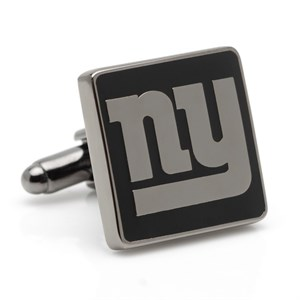 New York Giants Cufflinks - Black