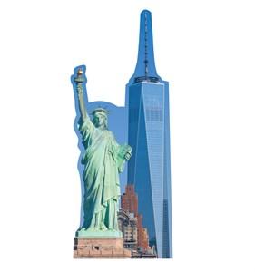 New York Skyline Cardboard Cutout