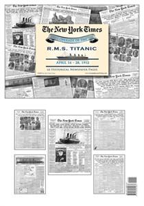 New York Times Newspaper Compilation Titanic