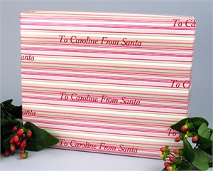 Personalized Gift Wrap<br>Watermelon