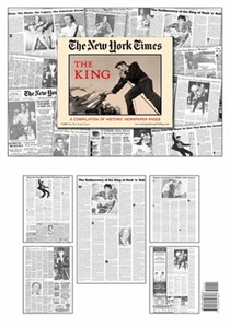 NY Times Newspaper Compilation - The Life and Times of Elvis Presley