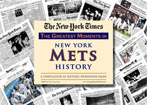 NY Times Newspaper - Greatest Moments in New York Mets History
