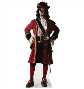 One Eyed Pirate Cardboard Cutout