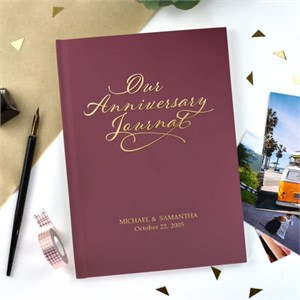 Our Personalized Anniversary Journal