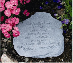 Our family chain... Memorial Stone