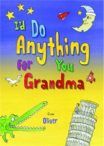 Personalized I'd Do Anything for You Grandma Book