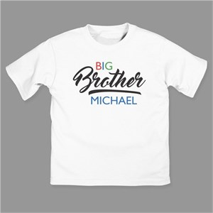 Personalized Big Brother / Sister T-Shirt