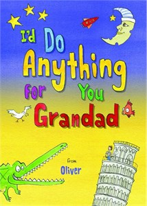 Personalized I'd Do Anything for You Granddad Book