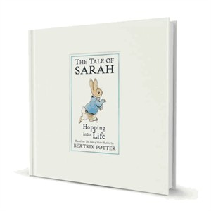 Personalized The Peter Rabbit Hopping into Life Book