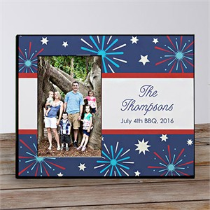 Personalized 4th of July Picture Frame