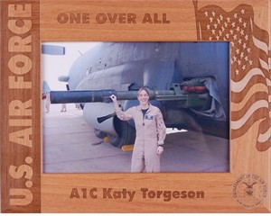 Personalized Air Force Frame