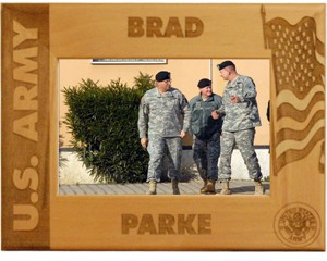 Personalized Army Frame
