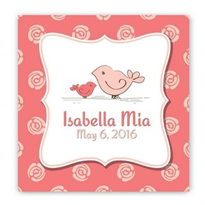 Personalized Baby Nursery Canvas Signs