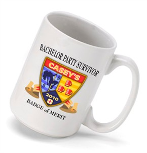 Personalized Bachelor Party Coffee Mug