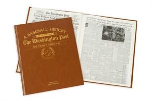 Personalized Baseball Newspaper Books - Washington Post Baseball
