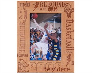 Personalized Basketball Frame