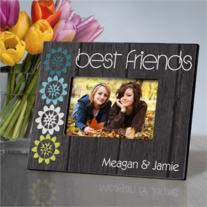 Personalized BFF Nature's Charm Picture Frame