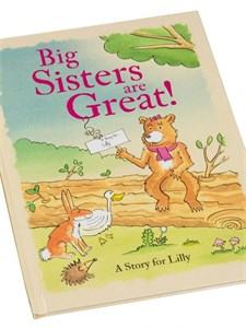 Personalized Big Sisters are Great Book