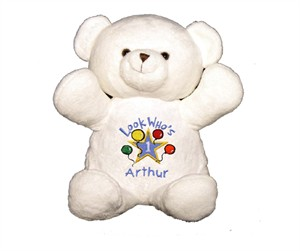 Personalized Birthday Bear - Blue