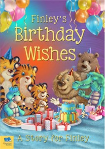 Personalized Birthday Wishes Story Book
