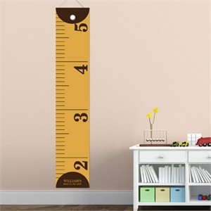 Personalized Boy Growth Chart - Measure Him