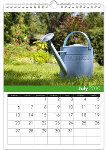 Personalized Calendar - Gardening