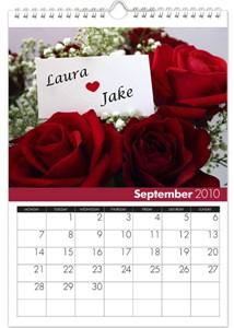 Personalized Calendar - Love & Romance