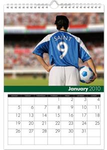 Personalized Calendar - Soccer