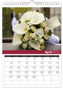 Personalized Calendar - Wedding