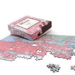 Personalized Canadian Map Jigsaw Puzzle
