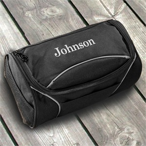 Personalized Canvas Travel Kit