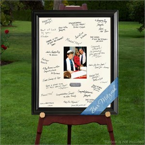 Personalized Celebrations Bat mitzvah Signature Frame