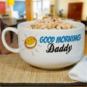 Personalized Ceramic Cereal Bowl