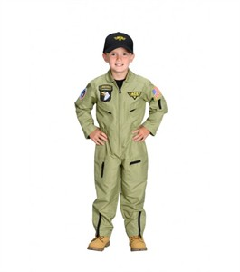 Personalized Child Air Force Pilot Costume