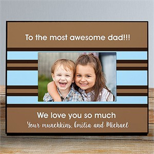 Personalized Custom Message Picture Frame