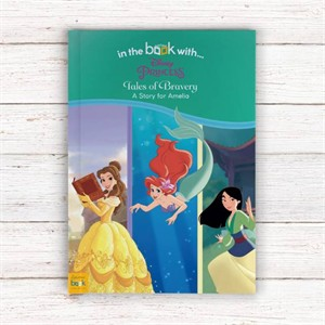 Personalized Disney Princesses Book: Tales of Bravery