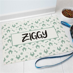 Personalized Dog House Doormat