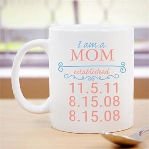 Personalized Established Mug for Her