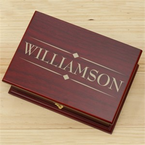 Personalized Family Tea Box