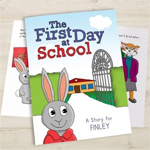 Personalized First Day At School Book