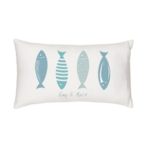 Personalized Fish Lumbar Pillow